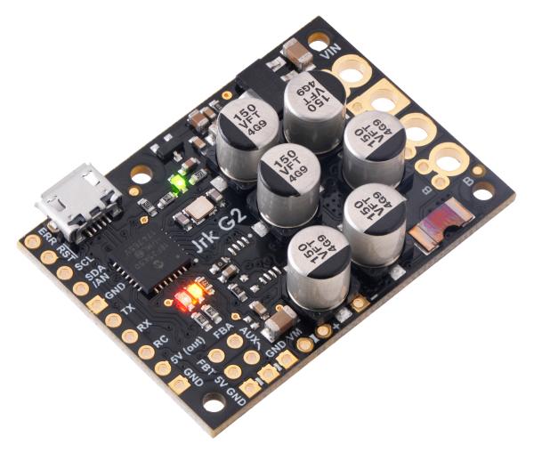 Controlor de motor USB Jrk G2 18v27 cu feedback 0