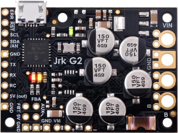 Controlor de motor USB Jrk G2 18v27 cu feedback 1