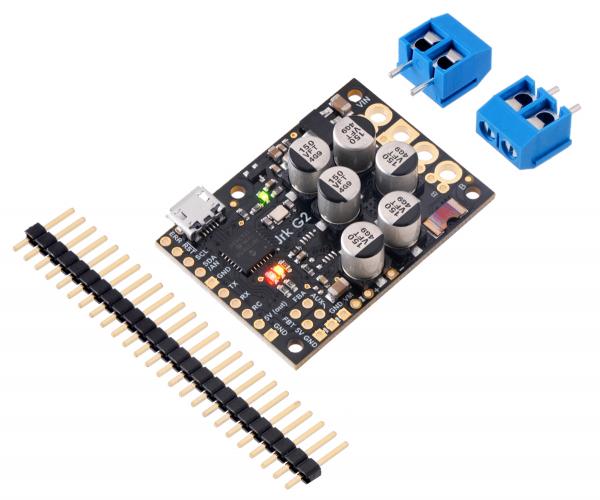 Controlor de motor USB Jrk G2 18v27 cu feedback 3