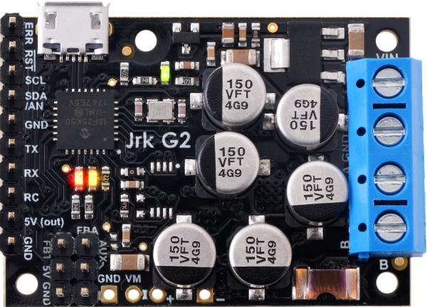 Controlor de motor USB Jrk G2 18v27 cu feedback 4