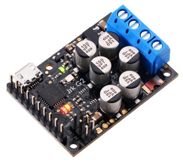 Controlor de motor USB Jrk G2 18v27 cu feedback 5