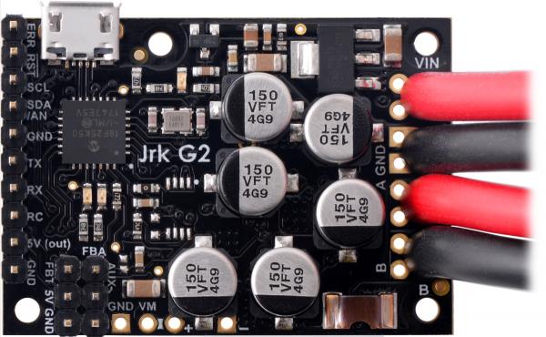 Controlor de motor USB Jrk G2 18v27 cu feedback 7