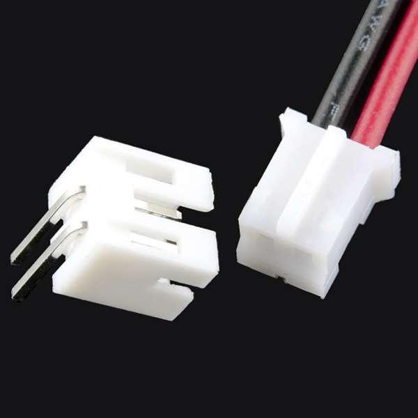 Cablu JST + conector cu 2 fire 1