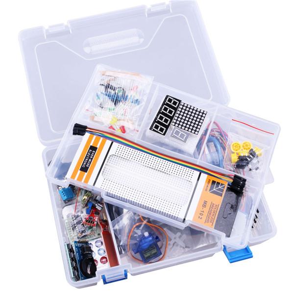 Kit de invatare cu Arduino Uno R3 0