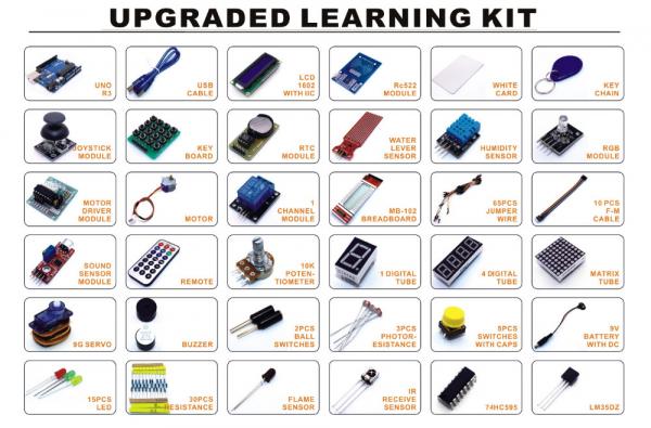 Kit de invatare cu Arduino Uno R3 2