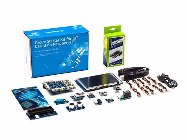 Kit incepatori Raspberry Pi 4