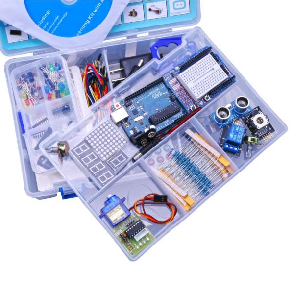 Kit de invatare  cu Arduino UNO R3 Robotlinkng 1