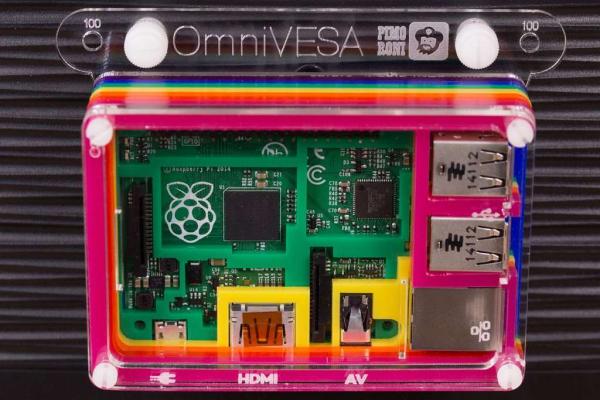 Kit montaj OmniVESA pentru Raspberry Pi [1]
