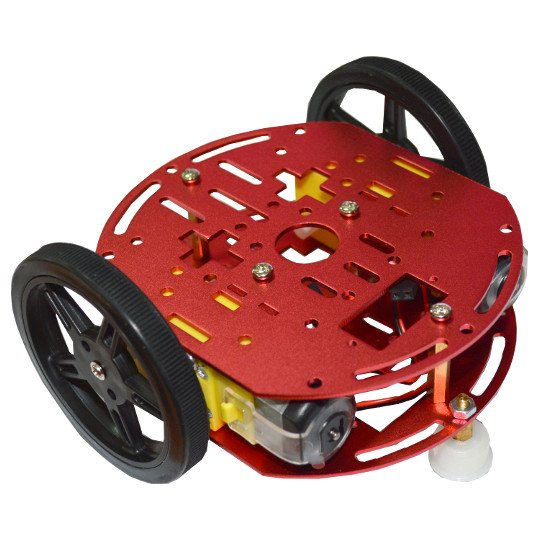 Kit robot cu carcasa metalica, roti si motoare DC [0]