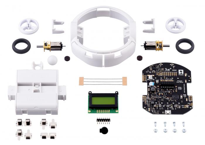 Kit robot Pololu 3pi+ 32U4 - Editia Turtle (motoare 75:1 LP) [0]