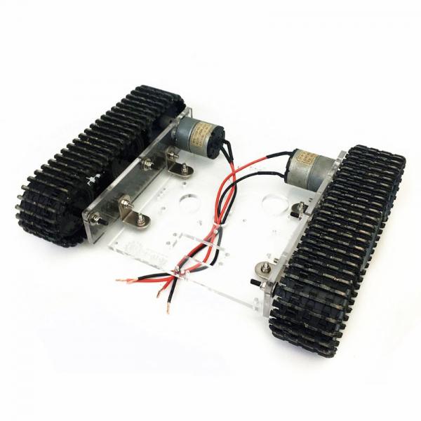 Kit sasiu robotic din acril cu motor inclus 2