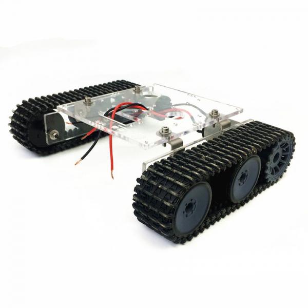 Kit sasiu robotic din acril cu motor inclus 1