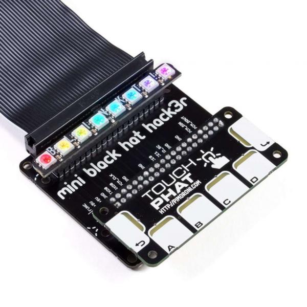 Kit Solder Yourself – Mini Black HAT Hack3r 2