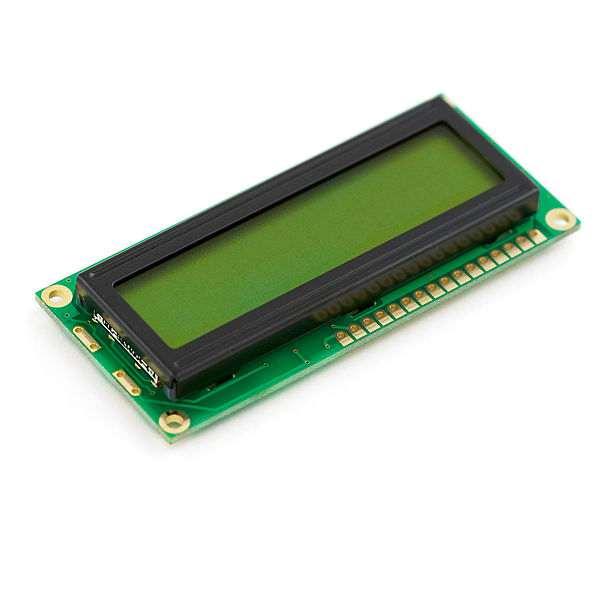 LCD 16 x 2 Alb pe Albastru, 3 V 0
