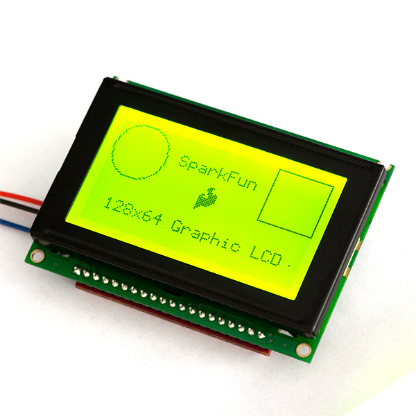 RETRAS - LCD Grafic 128x64 Serial 5