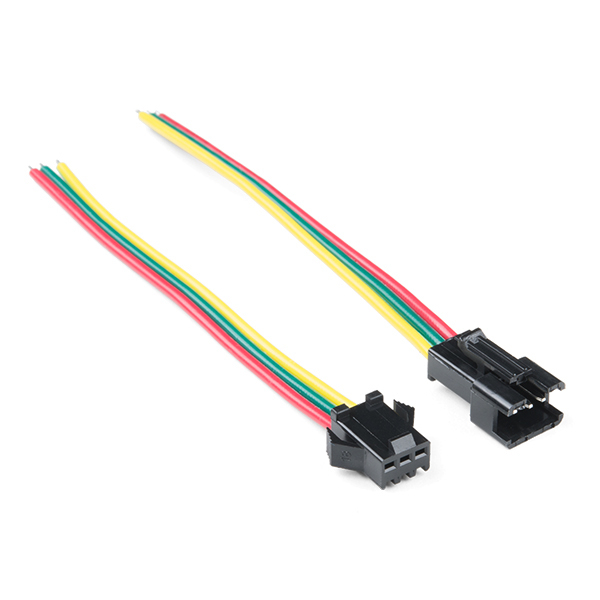 Conector 3 pini JST-SM LED 0