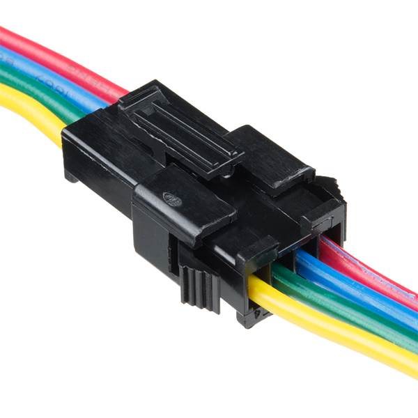 Conector 4 fire JST-SM LED 1