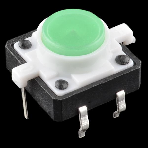 Buton tactil cu LED - Verde [0]
