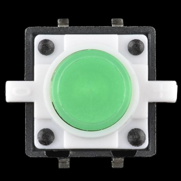 Buton tactil cu LED - Verde 2