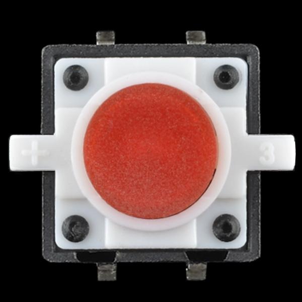 Buton tactil cu LED - Rosu 2