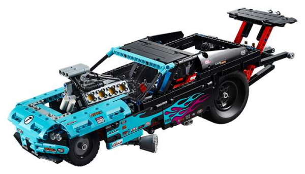 RETRAS - Dragster LEGO Technic Dragster 42050 1