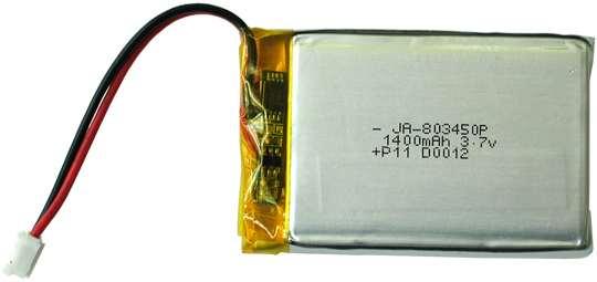 Acumulator LIPO 3.7 V 1400 mA 0