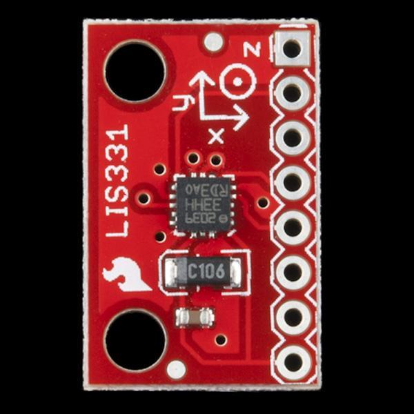 Accelerometru LIS331 2