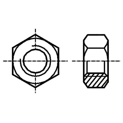 Set piulita otel 2.5mm M2.5 - 10 bucati 0