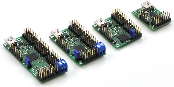 Controller servo 24 canale USB Micro Maestro 1
