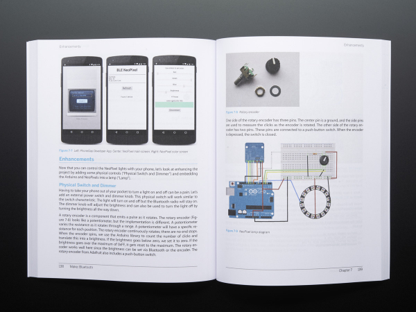 Make: Bluetooth LE Projects for Arduino, RasPi, and Smartphones 4