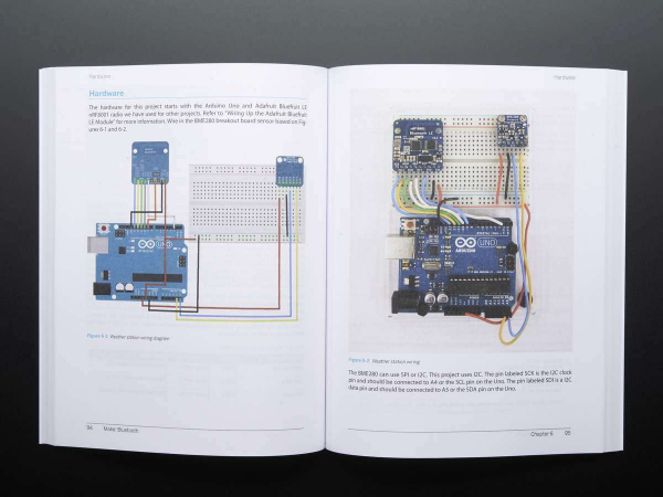 Make: Bluetooth LE Projects for Arduino, RasPi, and Smartphones [5]