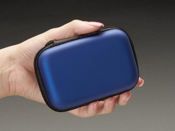 Maker-Friendly Zipper Case - Royal Blue 1