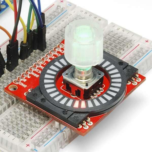 Capac encoder transparent SparkFun 0