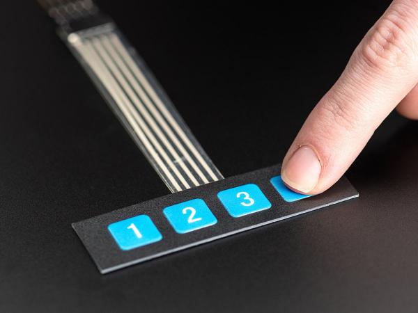 Tastatura Flexibila 1x4 0