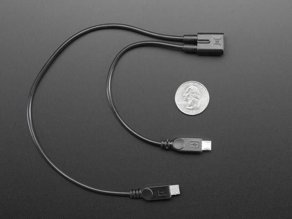 Cablu Extensie Dublu - Micro USB [1]