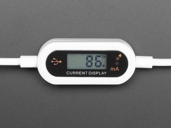 Cablu Micro B USB cu LCD tensiune si curent 1