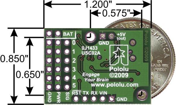 Controller servo 6 canale USB Micro Maestro 3
