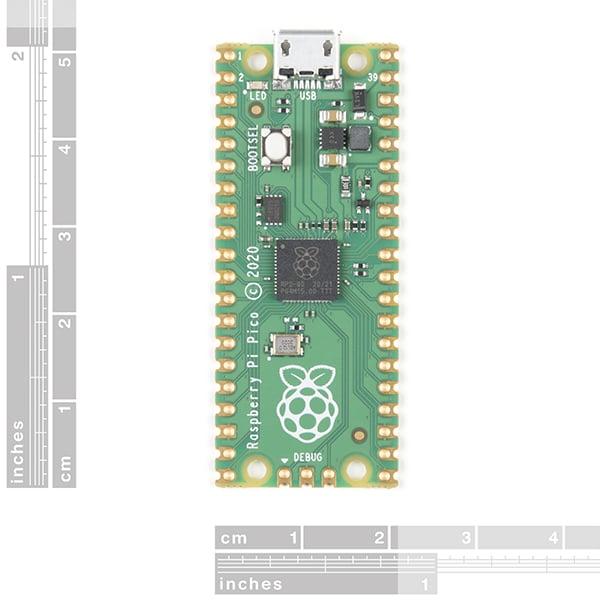Microcontroller Raspberry Pi Pico RP2040 2