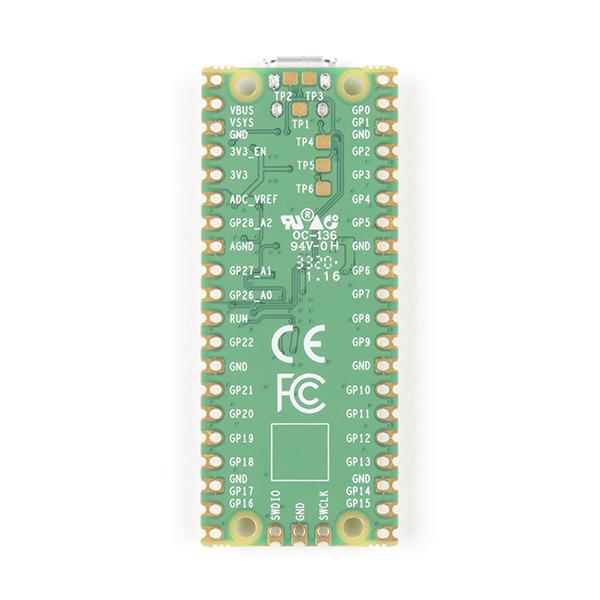 Microcontroller Raspberry Pi Pico RP2040 3
