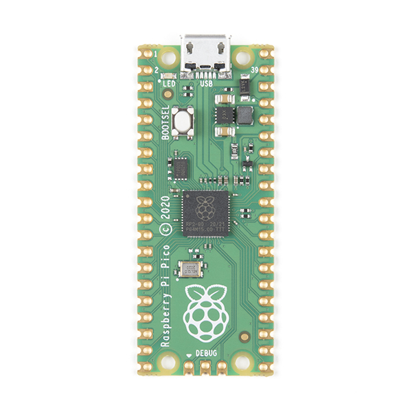 Microcontroller Raspberry Pi Pico RP2040 4