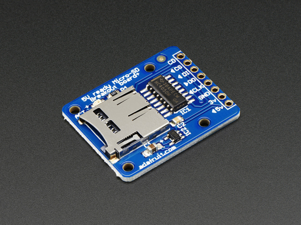 MicroSD card breakout [1]