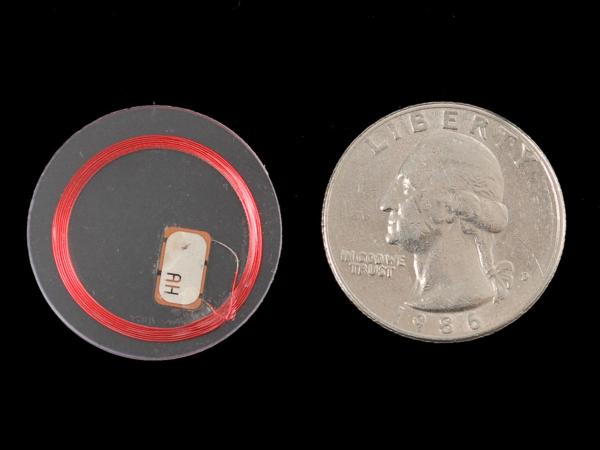 MiFare Classic (13.56MHz RFID/NFC) Clear Tag - 1KB 0