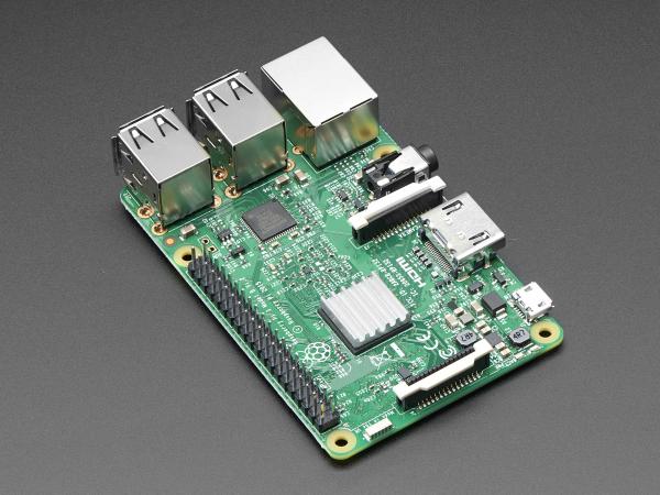 Mini-Radiator De Aluminiu pentru Raspberry Pi [1]