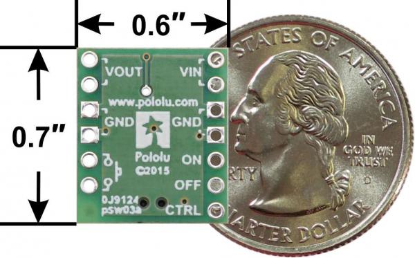 Intrerupator MOSFET cu Protectie la Alimentare Inversa Buton 4v-40v [2]