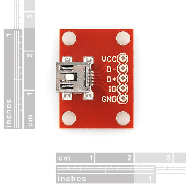 Placa mini USB 2