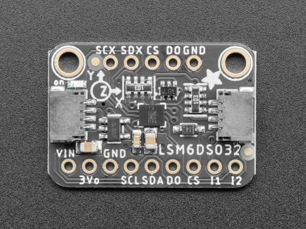 Modul accelerometru si giroscop Adafruit LSM6DSO32 6-DoF [3]