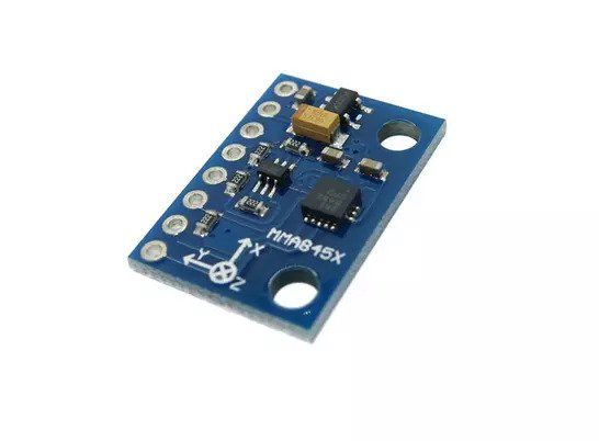 Modul accelerometru triaxial GY-45 MMA8452 5