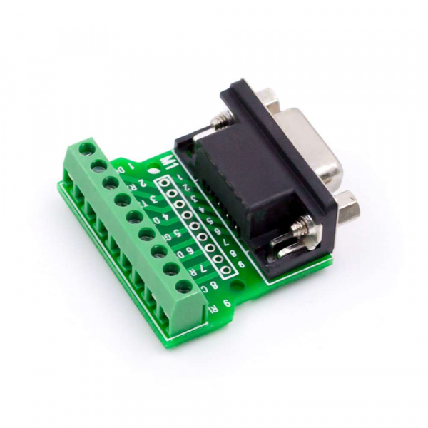 Modul adaptor DB9 RS232 - RS485 cu 9 pini [1]