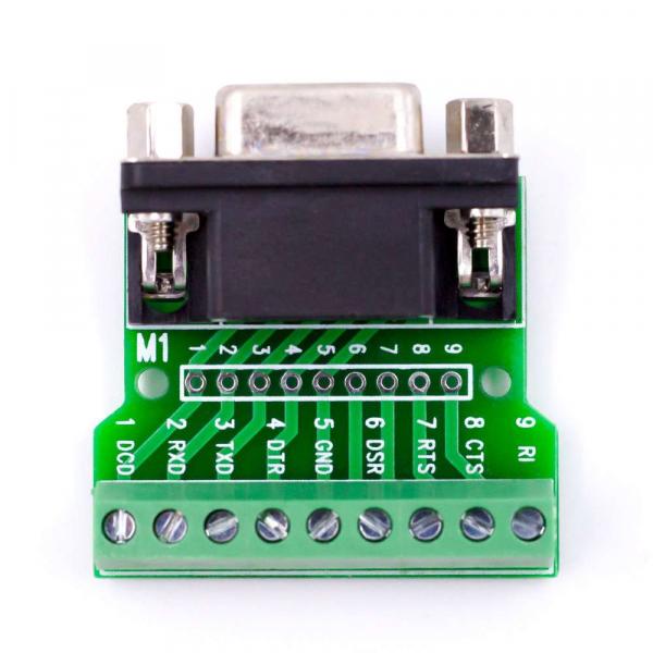 Modul adaptor DB9 RS232 - RS485 cu 9 pini [2]