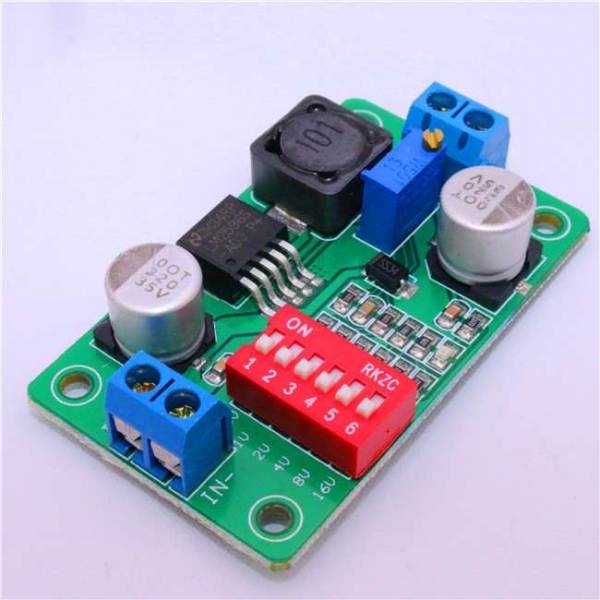 Modul de alimentare ajustabil pentru Arduino - Verde [0]